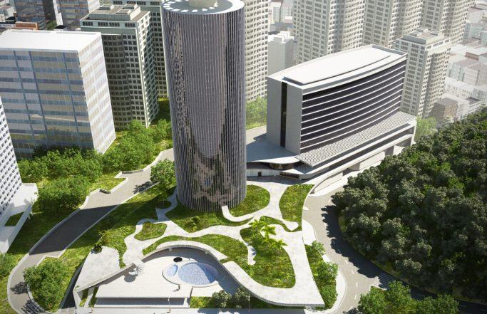 Revitalização do Hotel Nacional e projeto de novo prédio anexo
